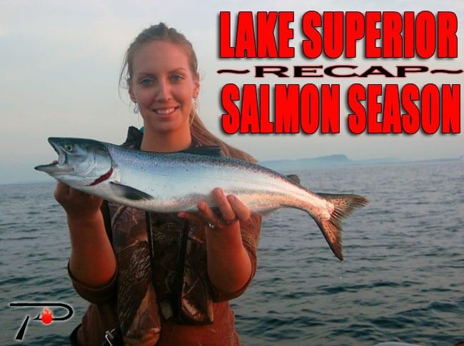 Lake superior salmon season recap pautzke bait co for Lake superior salmon fishing