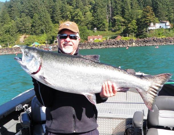 Tillamook s turn to cash in on salmon pautzke bait co for Tillamook bay fishing