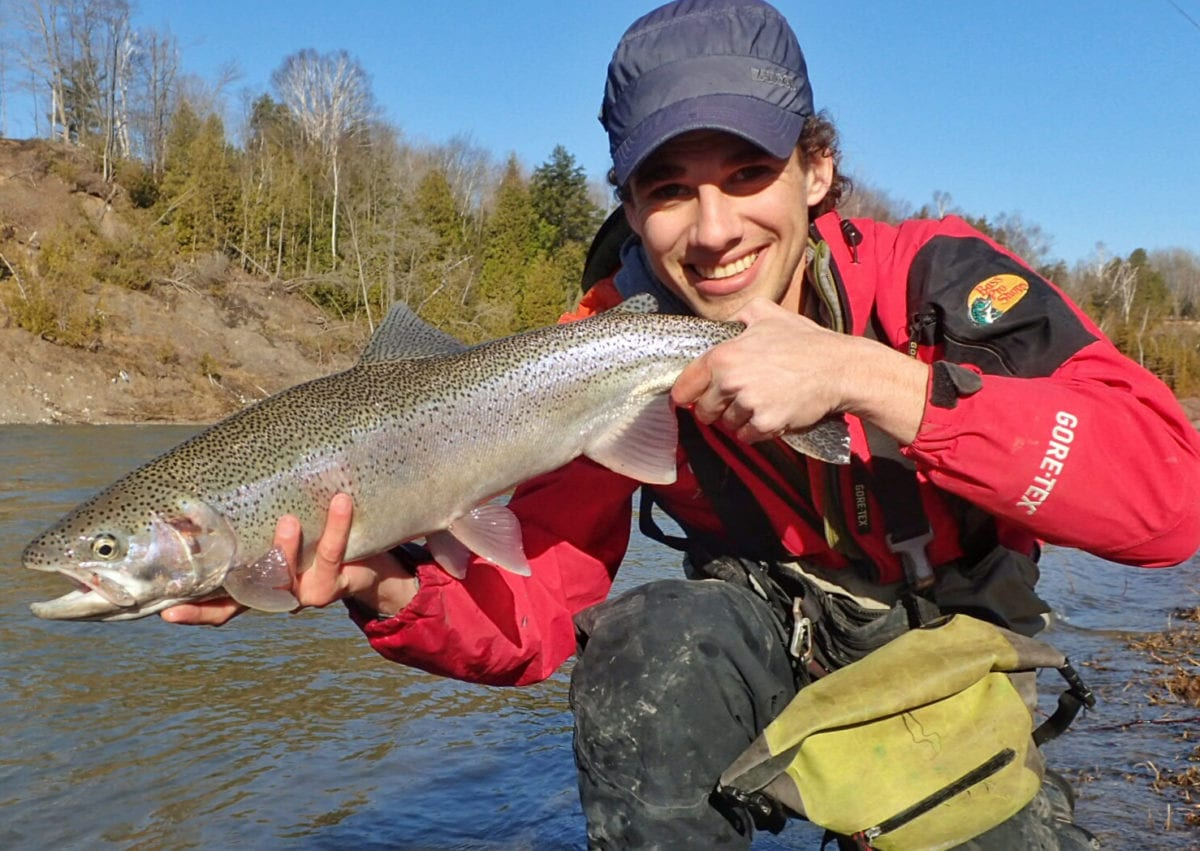 Southern ontario trout steelhead still on tap pautzke for Trout fishing southern california
