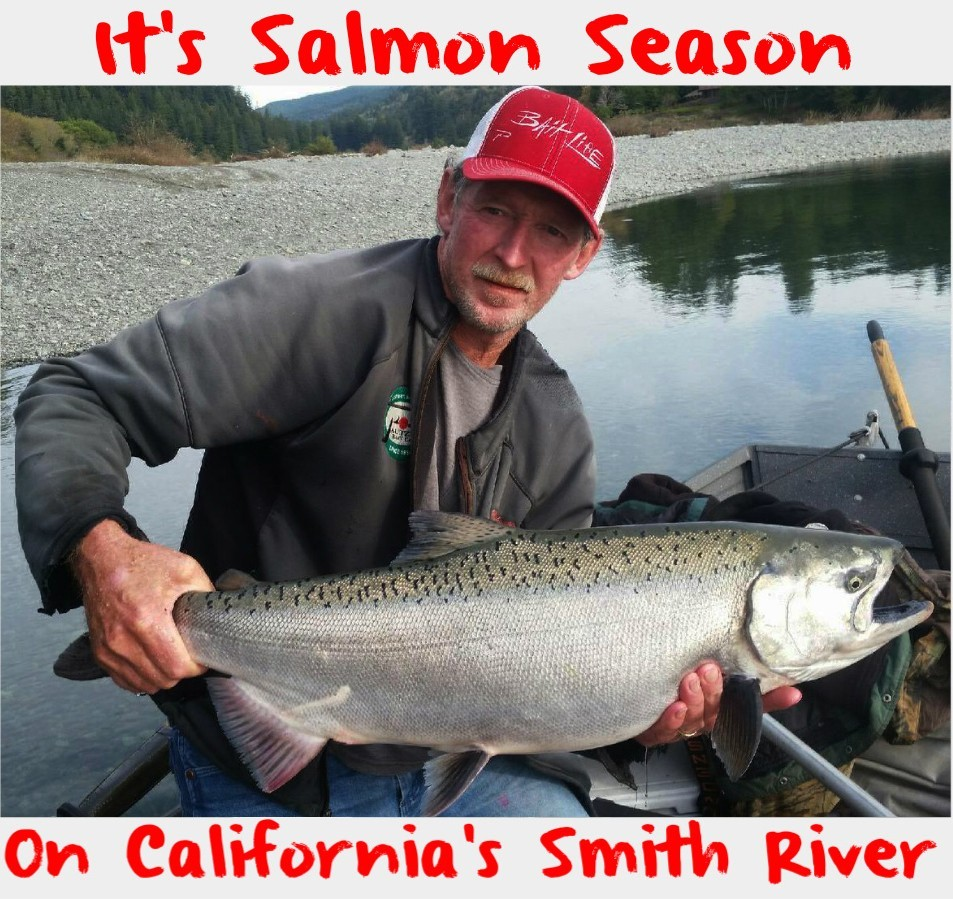 It s salmon season on california s smith river pautzke for Salmon fishing season