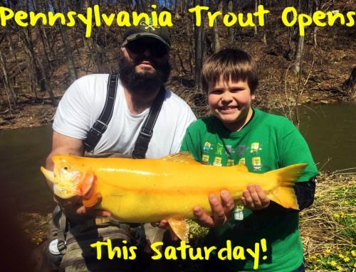 Pennsylvania Trout  Season Opens Saturday