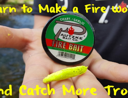 Learn to Make a Fire Worm & Catch More Trout