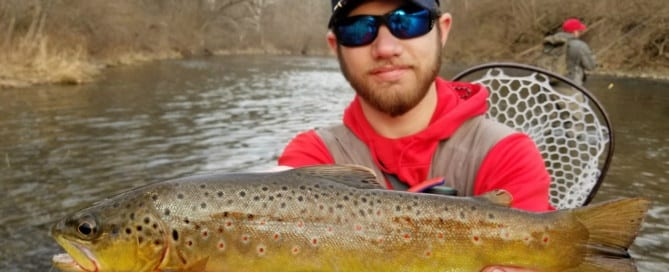 Bald eagle creek fly fishing best image konpax 2018 for Pa fish records