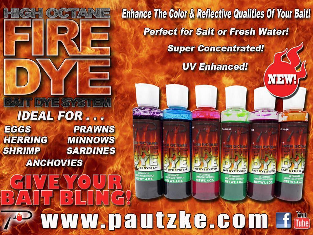 Fire Dye® – Pautzke Bait Co