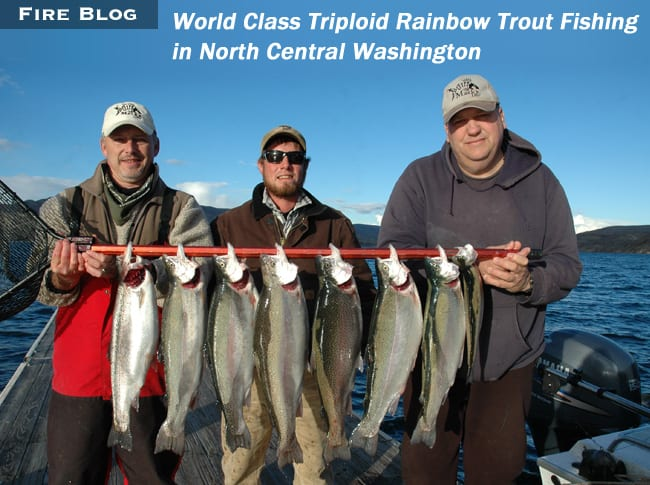 World Class Triploid Rainbow Trout Fishing in North Central
