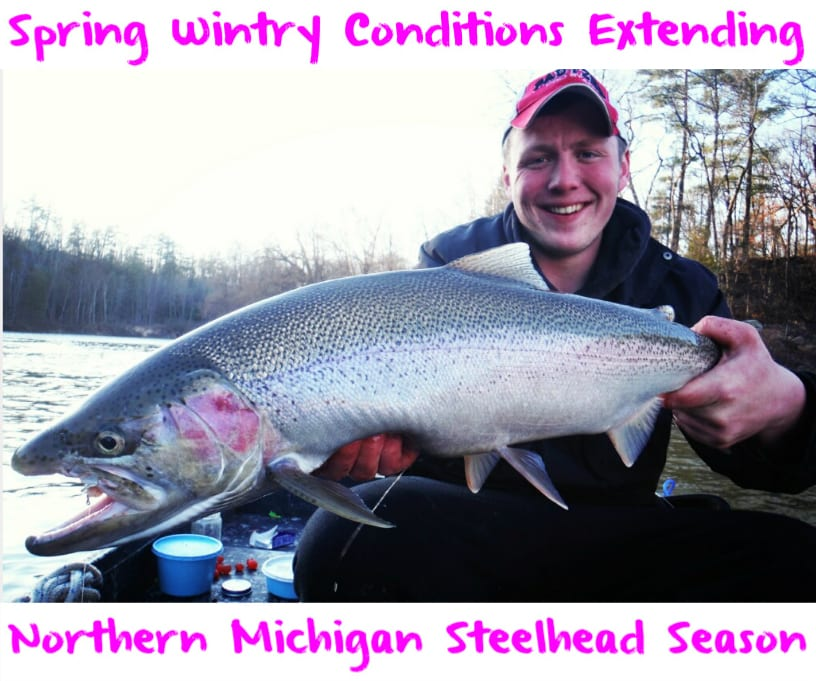 Spring Wintry Conditions Extending Northern Michigan