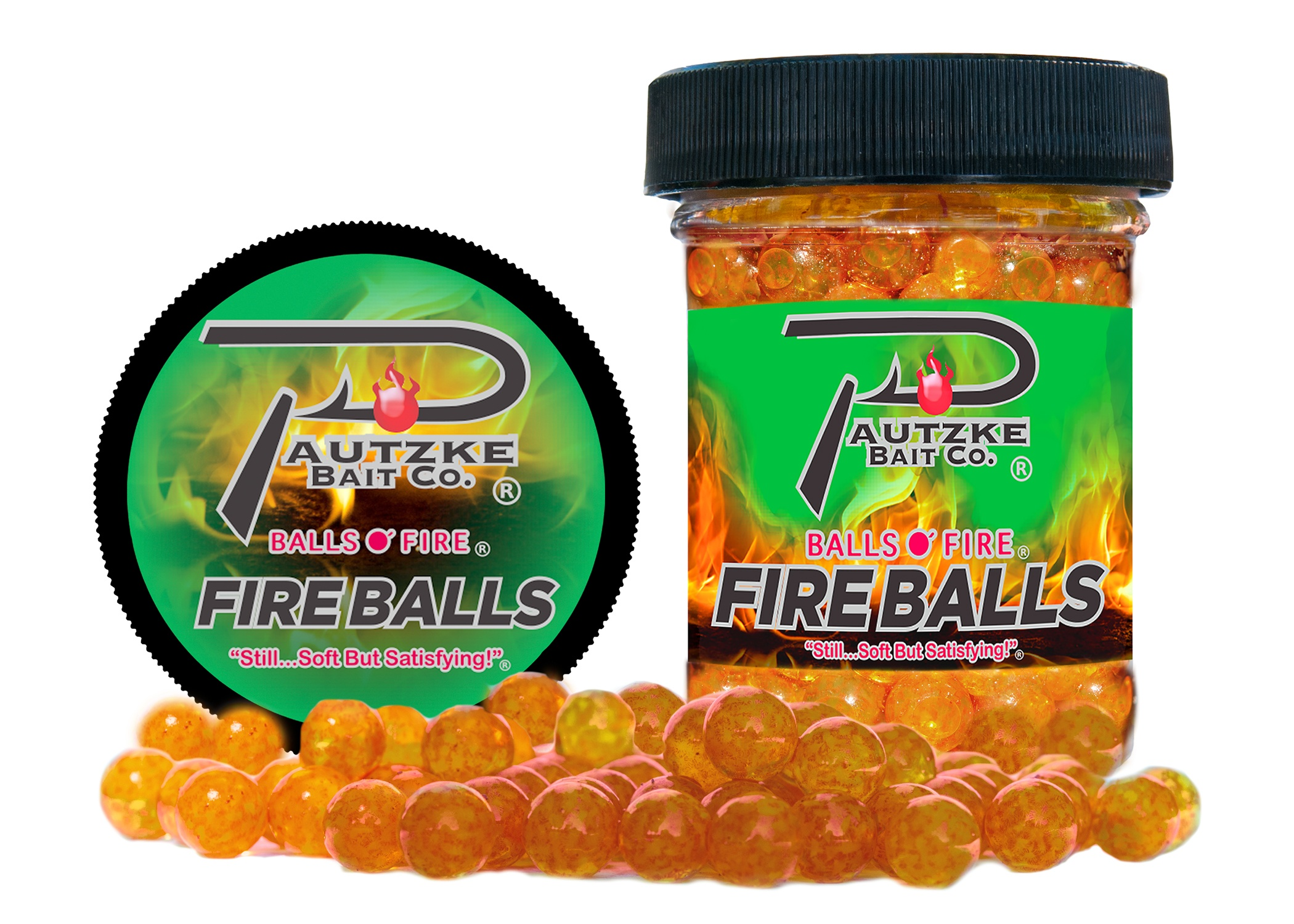 Pautzke Fire Balls - Brown Trout Image