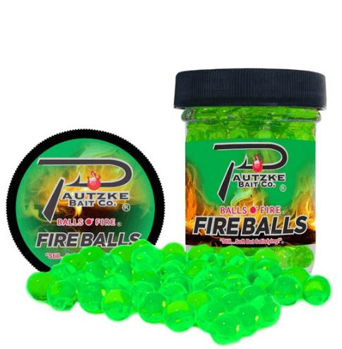 Pautzke Fire Balls - Chartreuse Garlic Image