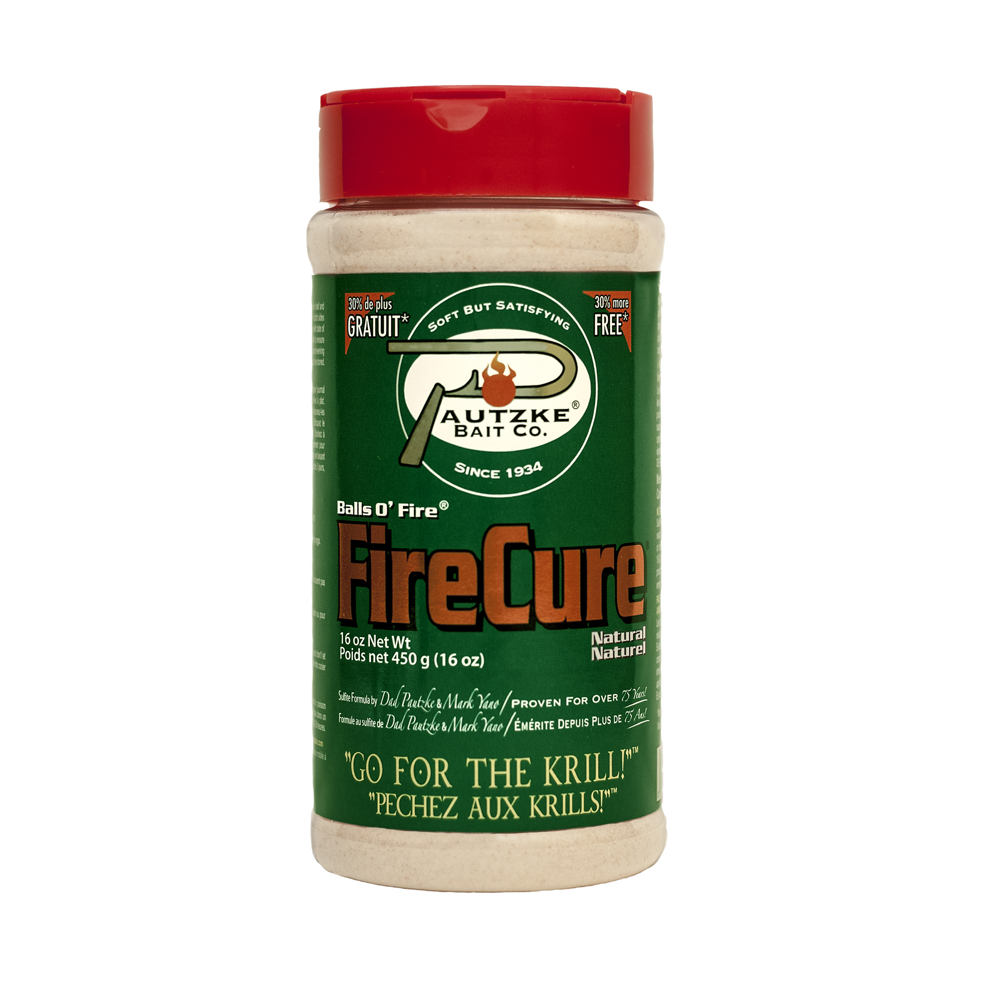 Pautzke Fire Cure - Natural 16 oz Image