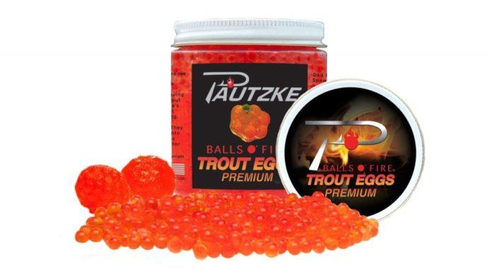 Balls o' fire trout eggs