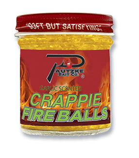 Gold Crappie Fire Balls