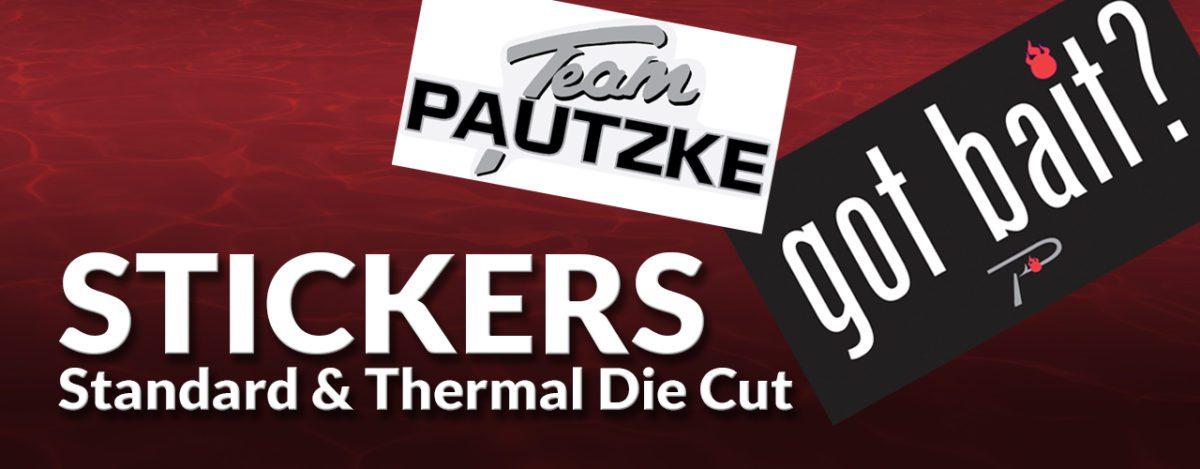 Pautzke Stickers